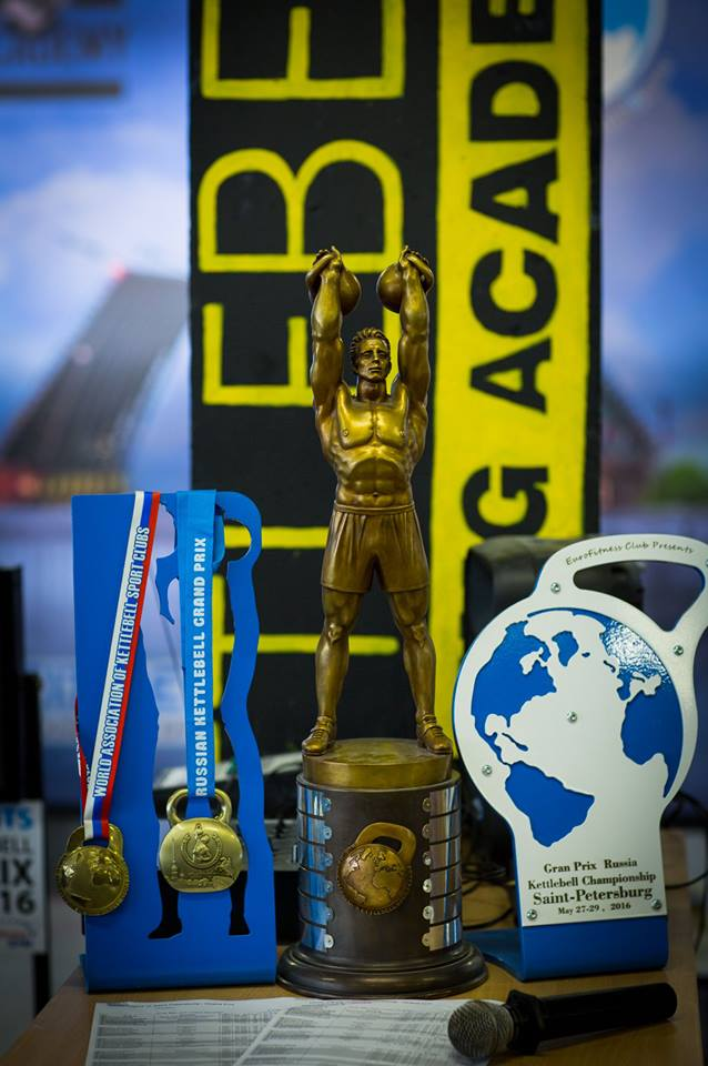 Healthy nation  Cup of champions on kettlebell sport