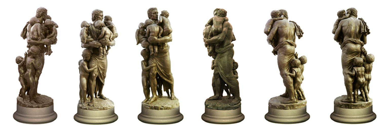 Скульптор Нельсон Афиан Статуя Спаситель посвящена событиям в Беслане Дипломная работа скульптора